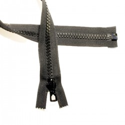 FERMETURE 75 cm SEP. MAILLE MOULEE 9 MM