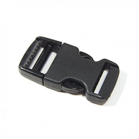 TUCK PLASTIQUE 25 mm NOIR