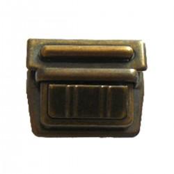 TUCK CARRE NICKELE BRONZE DORE 40mm