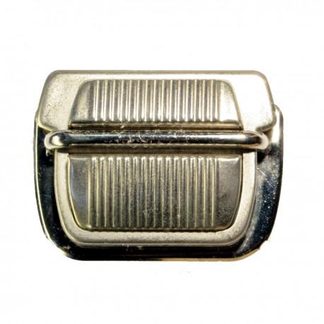 TUCK CARRE BRONZE NICKELE 50 mm