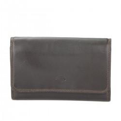 B00028 Pt P-M/carte cuir bovin dbl textile pleine fleur tan.chrome