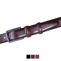 1136/30 CEINTURE MOVI H 30 mm cuir veau tan. végétal