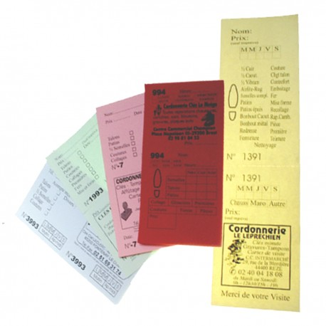 Pquet 1000 TICKETS PERSONNALISES