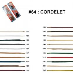 LACET BLISTER R.P. CORDELET 120 CM /paire
