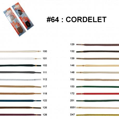 LACET BLISTER R.P. CORDELET 180 CM