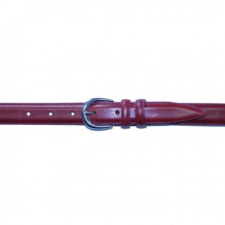 328/25 CEINTURE MOVI D 25 mm cuir bovin pleine fleur tan. végétal