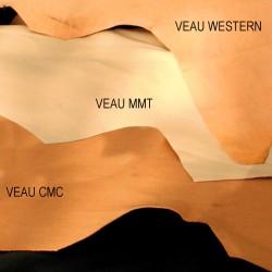 VEAU DOUBLURE NOIR/MARRON/NAT CMC .M²