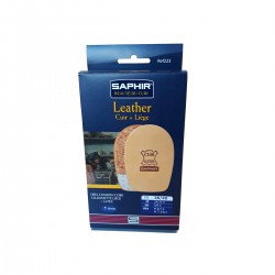 223 TALONNETTE CUIR/LIEGE 5mm SAPHIR