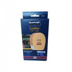 223 TALONNETTE CUIR/LIEGE 10 mm SAPHIR